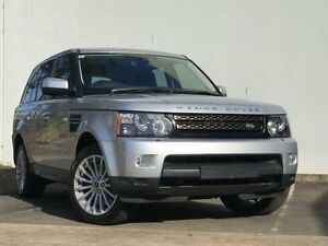2012 Land Rover Range Rover Sport L320 12MY SDV6 Silver Auto Sports Mode Wagon Kings Park Blacktown Area Preview