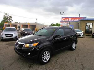 2012 Kia Sorento LX 4 Cylinder Gas Saver SUV Easy Car Finance
