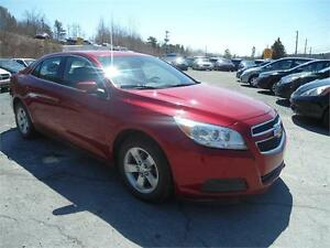 BEAUTY RED !!! 2013 CHEVROLET MALIBU LT- LOADED!