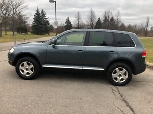 2006 VW Touareg leather seats, great condition and fully loaded