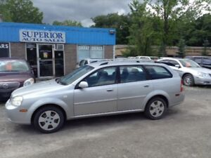 2005 Chevrolet Optra Wgn LS Fully certified! Carproof Verified!
