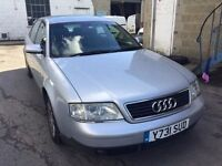 2001 Audi A6 automatic, starts and drives well, MOT until 25th November, black leather interior, car