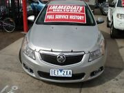 2011 Holden Cruze JH Series II MY12 CDX Silver 6 Speed Sports Automatic Sedan West Footscray Maribyrnong Area Preview