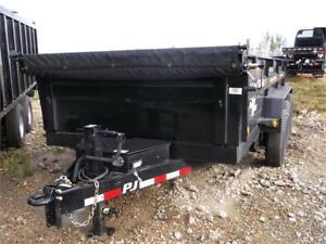 """16' x 83"""" XL Dump Trailer, 14K GVWR (D9A)"""