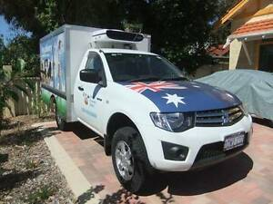 2010 Mitsubishi Triton Refrigerated Ute Beeliar Cockburn Area Preview