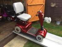 Fast Pride Celebrity Mobility Scooter Good Batteries Runs Well W/Charger Worth £450 Now Only £240