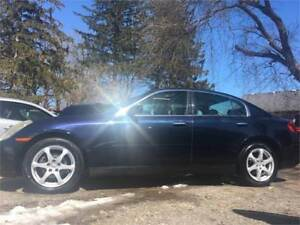 2004 INFINITI G35X ALL WHEEL DRIVE LEATHER SUNROOF & MORE!