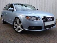 Audi A4 Avant 2.0 TDI 140 S-Line ....Diesel S-Line A4 Avant with a Comprehensive Service History
