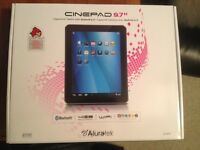 Aluratek AT197F Cinepad 9.7-inch 4GB Tablet- New in Box $175