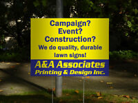 Bag Signs, Plastic Signs, Exterior Signs