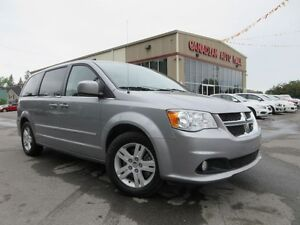 2015 Dodge Grand Caravan CREW PLUS, LEATHER, NAV, 52K!