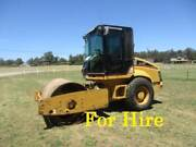 FOR HIRE 7 TONNE CAT ROLLER AVAILABLE NOW Pickering Brook Kalamunda Area Preview
