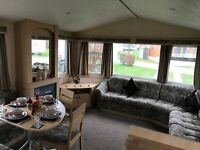 STATIC CARAVAN FOR SALE SITED ON CHERRY TREE HOLIDAY PARK NR GREAT YARMOUTH NORFOLK