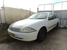 1998 Ford Falcon AU Forte White 4 Speed Automatic Wagon North St Marys Penrith Area Preview