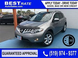 NISSAN MURANO SL - APPROVED IN 30 MINUTES! - ANY CREDIT LOANS
