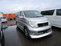 FRESH IMPORT 2005 FACE LIFT NISSAN ELGRAND HIGHWAY STAR V6 AUTOMATIC