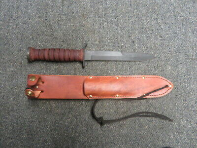 CAMILLUS REPRODUCTION WWII STYLE M3 FIGHTING KNIFE-EXCELLENT