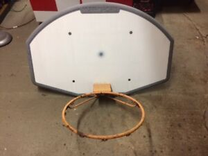 Basketball Board and Rim