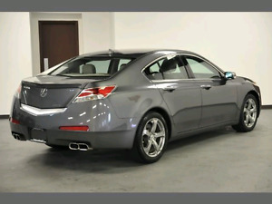 2009 Acura TL W/Tech Package SH-AWD