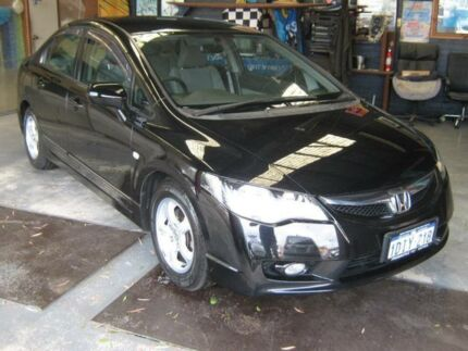 2010 Honda Civic MY10 Limited Edition Black 5 Speed Automatic Sedan Fremantle Fremantle Area Preview