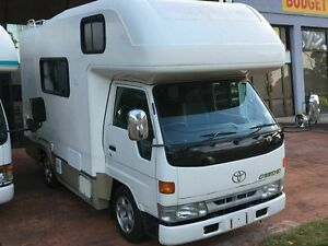 1999 Toyota 3.0 Lt Diesel Toyota Camroad White Motor Camper 2WD Taren Point Sutherland Area Preview