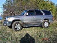 2001 Toyota 4Runner SUV, Crossover