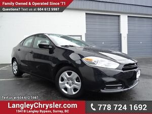 2014 Dodge Dart SE W/ POWER WINDOWS/LOCKS & 6-SPEED MANUAL