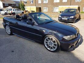 BMW E46 330ci Sport Individual Convertible Carbon Black