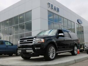 2017 Ford Expedition MAX 600A, PLATINUM, 4X4, 8 PASSENGER, SYNC,