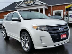 2014 Ford Edge Sport AWD, Leather Heated Seats, Bluetooth, Back