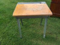 old fashioned child's desk
