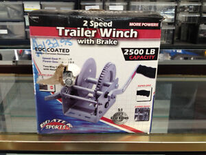 Boater Sports 2-Speed Trailer Winch with Brake
