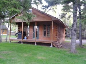 1 Bedroom Log Chalet On The Water In Tatamoughe, NS