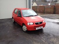 Suzuki Alto 1.1, MOT'd, Low Miles, £30 Tax, Trade-In to Clear