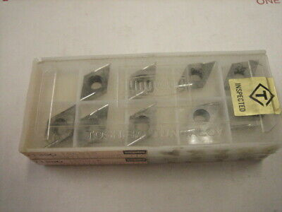 Tungaloy Dcgt11t300fr-j10 Carbide Inserts New Unoated Grade Th10