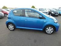 Toyota Aygo VVT-I BLUE (blue) 2010-12-16