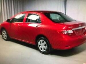 2011 Toyota Corolla, prix de vente 4995$, 22$ par semaine