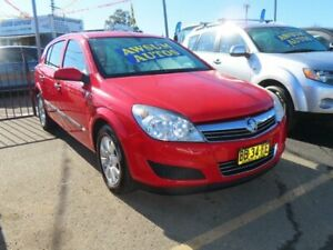2008 Holden Astra AH MY08.5 60th Anniversary Red 4 Speed Automatic Hatchback Minchinbury Blacktown Area Preview