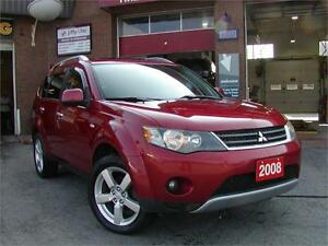 2008 Mitsubishi Outlander XLS - 7 Seats|Leather|Navigation