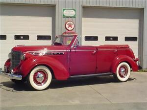 1938 CHRYSLER ROYAL 4 DOOR CONVERTIBLE SEDAN - RARE FIND!