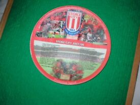 STOKE CITY PLATE 2007/8 PROMOTION YEAR