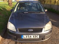 FORD CMAX DIESEL TDCI 1.6 VERY GOOD CONDITION LOOKS AND DRIVES PERFECT NO FAULTS MOT TILL NOVEMBER