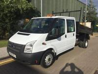 2013 Ford Transit 350 C/C DRW DOUBLE CAB TIPPER Manual Tipper