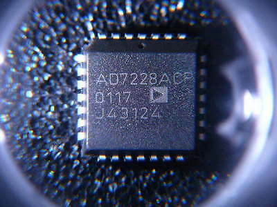 Ad7228acp 8 Bit Digital To Analog Converter 8 28-plcc 11.51x11.51 New