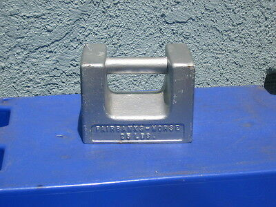 Antiquevtg Fairbanks-morse Calibration Weight 25lb Scale Calibration Tool