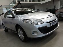 2010 Renault Megane III B32 Dynamique Silver 6 Speed Constant Variable Hatchback Essendon Moonee Valley Preview