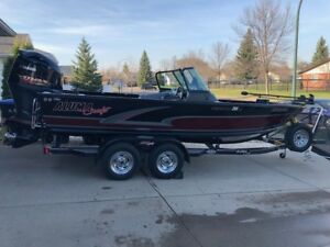 Price Reduced -Alumacraft Competitor Sport 205 w/ Yamaha 250 SHO
