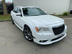 2012 Chrysler 300 LX SRT-8 Sedan 4dr Spts Auto 5sp 6.4i [MY12] White Sports Automatic Sedan Oxley Park Penrith Area Preview