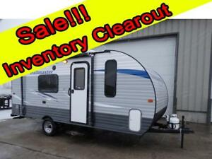 18 foot travel trailer Clearout Sale!