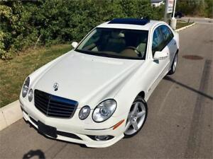 2009 Mercedes-Benz E-Class 3.5L E350 4Matic AMG PKG! **FINANCE**